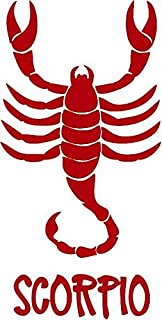 Family Connections Zodiac Sign Scorpio 2 Vinyl Decal Sticker for Window ~Car~Truck~Boat~Laptop~iPhone~Wall~Motorcycle~ Size 4.04