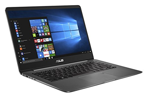 Asus Zenbook UX3430UQ-GV010T 35,5 cm (14 Zoll FHD matt) Laptop (Intel Core i7-7500U, 16GB RAM, 256GB SSD, Nvidia GeForce 940MX, Win 10) grau