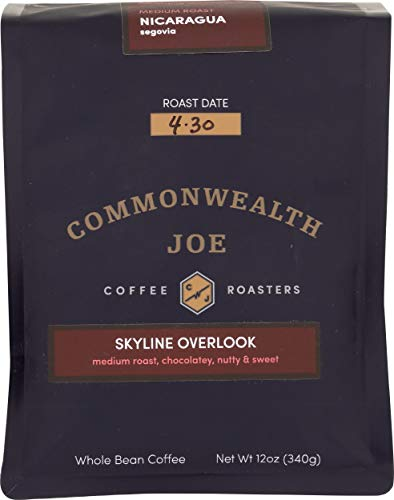 Commonwealth Joe, Coffee Skyline Overlook, 12 Ounce