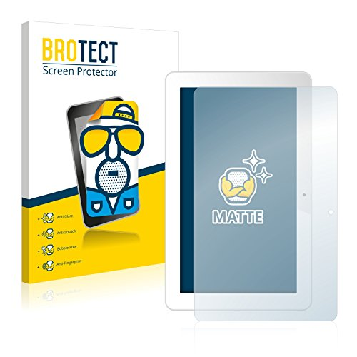 BROTECT 2X Entspiegelungs-Schutzfolie kompatibel mit Odys Ieos Quad 10 Pro Bildschirmschutz-Folie Matt, Anti-Reflex, Anti-Fingerprint