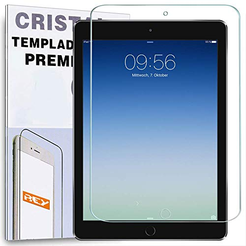 """REY Protector de Pantalla para iPad Pro 12.9"""", Cristal Vidrio Templado Premium"""