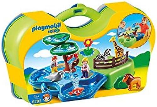 bienvenido a elegir Playmobil 1.2.3 Zoo y Acuario Acuario Acuario Maletin  muchas sorpresas