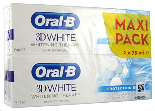 ORAL-B 3D WHITE WHITENING THERAPY EMAILLE SCHUTZ 2 X 75ML 1er Pack(1 x)