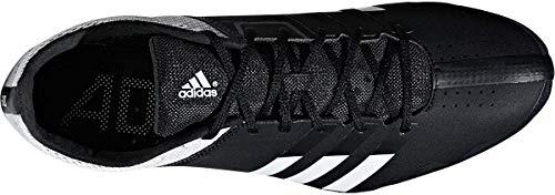 adidas Adizero Finesse, Scarpe da Atletica Leggera Uomo, Nero (CoreBlack/FtwrWhite/FtwrWhite), 50 2/3 EU