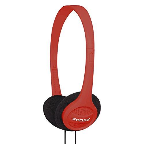 Koss Stereo(Kph7r) on Ear Per Iphone, MP3 E Smartphone(Nera E Rossa)