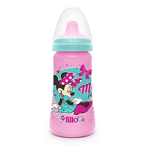 Copo Colors Disney com Bico em TPE - Lillo, Rosa