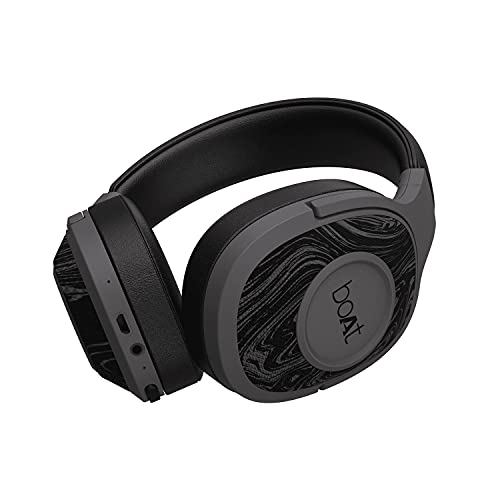 boAt Rockerz 550 Over-Ear Wireless Headphone with Ergonomic Aesthetics, Plush Padded Earcups, Immersive Audio, Bluetooth v5.0 & Upto 20H Playback...
