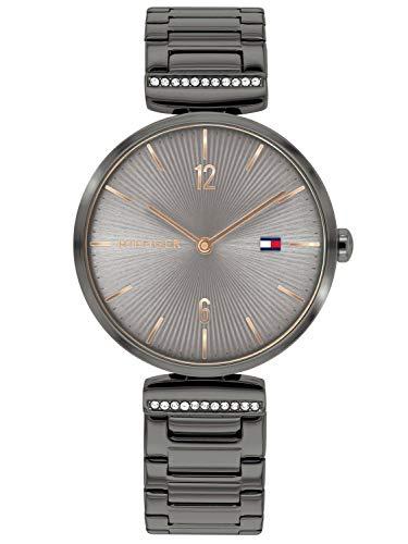 Tommy Hilfiger Reloj Analógico para Mujer de Cuarzo con Correa en Acero Inoxidable 1782276