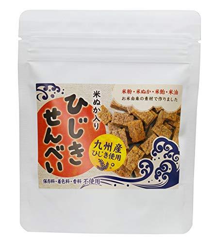 ひじきせんべい プレーン 40g×20P ひじき 米ぬか 栄養強化おやつ