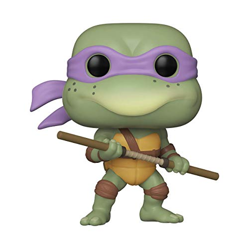 Funko- Pop Vinyl 1990-Donatello Teenage Mutant Ninja Turtles 1990 Donatello Figura coleccionable, Multicolor (51434)