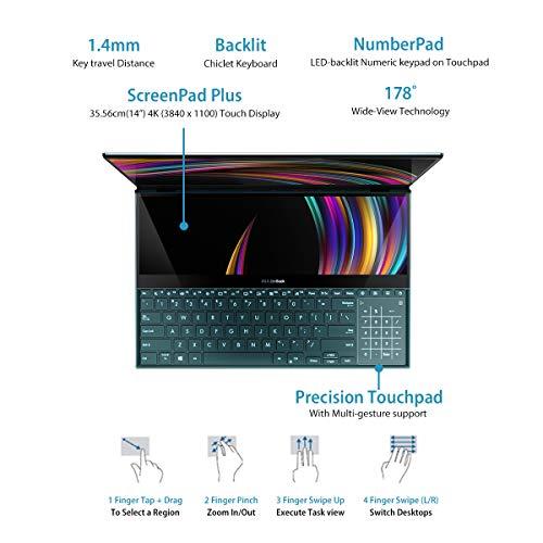 ASUS ZenBook Pro Duo Intel Core i7-10750H 10th Gen 15.6
