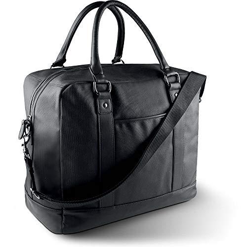 noTrash2003 Reisetasche beschichtete Baumwolle Reisegepäck Fitnesstasche Weekender Bag von notrash2003