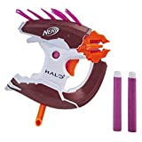 NERF MicroShots Halo Needler -- Mini Dart-Firing Blaster and 2 Darts -- Collectible Blaster for Halo Video Game Fans Battlers