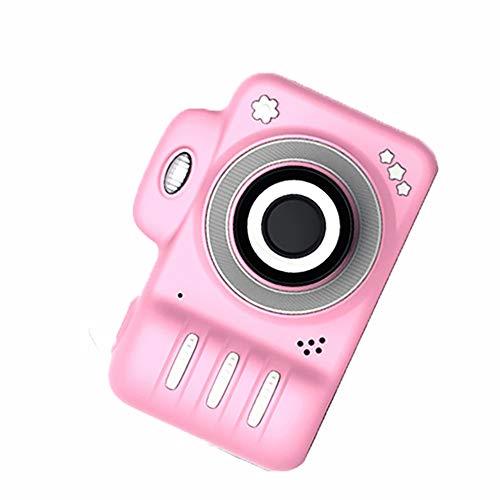La cámara de los niños mini de dibujos animados regalo de la cámara digital de juguete de regalo inteligente digital pequeño SLR, Rosa