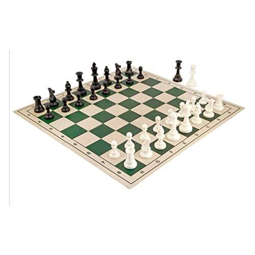 UNU_YAN Moderne Einfachheit Kreative Schach PVC Schach Set Reisen Tragbare Schach Plastikschachfiguren Faltbare Schachbrett Pädagogisches Spielzeug Geschenk