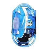 LOVIVER Sifón de pecera y Limpiador de Grava-una Bomba de sifón Manual para drenar y reemplazar el Agua en Minutos