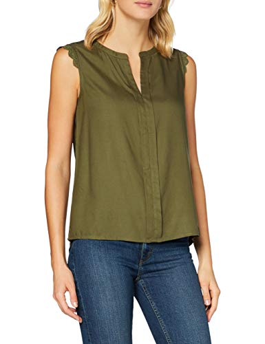 Only Onlkimmi S/l Top Wvn Noos Blusa, Grape Leaf, 36 para Mujer