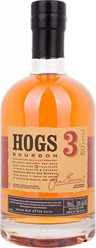 Hogs 3 Years Old Bourbon - 700 ml