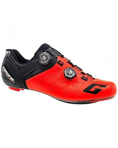 Gaerne Carbon G. Stilo+ Scarpe Road Ciclismo, Red - Rosso, 45