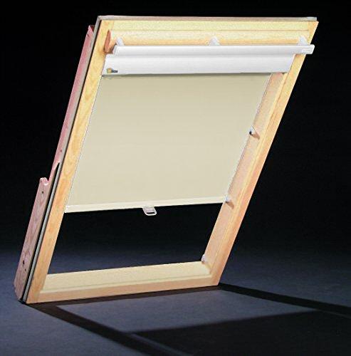 Dachfenster Thermo Rollos für Velux Fenster - Deutsches Markenprodukt - Sonnenschutz GGL GPL 808/810