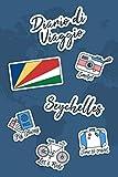 Diario di Viaggio Seychelles: Diario di viaggio da compilare | 106 pagine, 15,24 cm x 22,86 cm | Per accompagnarvi durante il vostro soggiorno