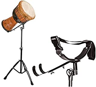 پایه Djembe Didgeridoo ، صفحه نمایش استیل ضد زنگ Djembe Didgeridoo