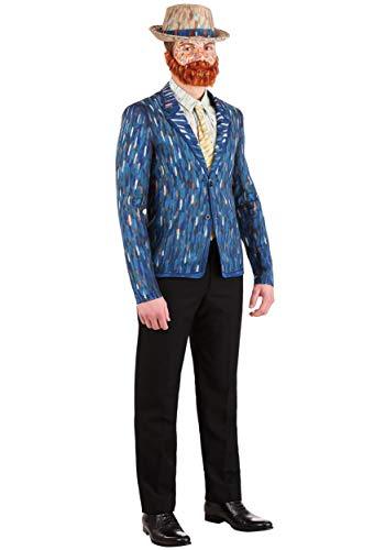 Disfraz de Vincent Van Gogh para hombre - azul - X-Large