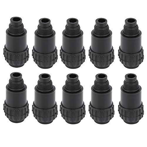 【April Gift】Air Breathing Nozzle, Pneumatic Equipment Anti‑Aging Air Pump Breathing Nozzle, 10Pcs for Piston Air Compressors Air Compressor Parts