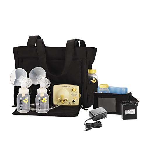 Medela Pump in Style Advanced with Tote, Electric Breast Pump for Double Pumping, Portable Battery Pack, Adjustable Speed and Vacuum, International...