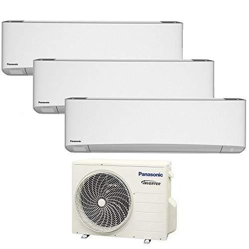 TRIO Split klimagerät R32 WiFi ETHEREA PANASONIC Klimaanlage 2+2+2 KW A+++