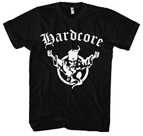 Hardcore T-Shirt | Herren | Musik | Electro | Bekleidung | Rock | Pop | Kult | DJ | M1 (M)
