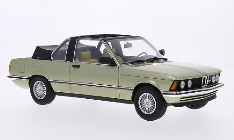 minorista de fitness BMW 323i (E21) Baur, metálico-verde claro, 1979, Modelo de Auto, Auto, Auto, modello completo, BoS-Modelos 1 18  primera reputación de los clientes primero