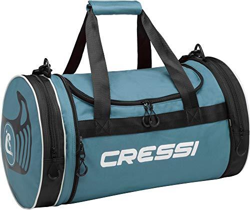 Cressi Rantau Bag, Borsa Sportiva Unisex Adulto, Verde/Nero, 55 x 30 x 30 cm