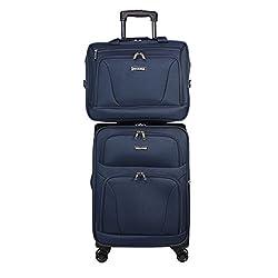 cheap World Traveler Emberk Two Piece Lightweight Carry Fidget Spinner – Navy Blue One Size
