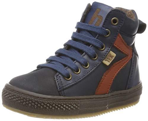Bisgaard Jungen Eskild Hohe Sneaker, Blau (Navy 602), 29 EU