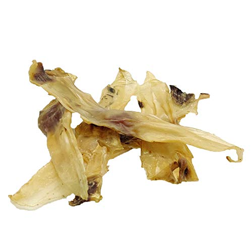 Mojo Pet Rabbit Ears Natural Treat for Dog Chew -Makes Great Dental Puppy Treats -Excellent Protein Source (Rabbit ear without fur, 500 grams)