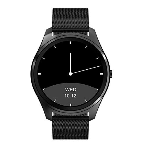Diggro DI03 Smartwatch Bluetooth per Android iOS Smartphone IPhone Samsung, Notifiche APP (Whatsapp, Facebook, Twitter), Notifiche Chiamate e SMS, Fotocamera Remota,IP68 Impermeabile, Anti-lost, Promemoria Sedentarietà, Smartwatch per Donna Uomo