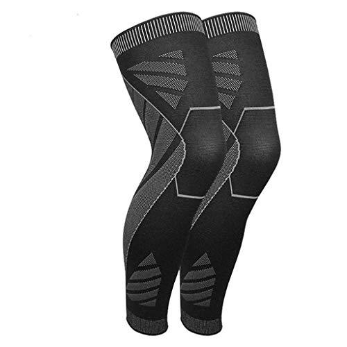 WZHZJ 1 Paar Knieschutz Elastische Kniestütze Klammer zum Laufen, Basketball, Volleyball, Fußball, Radfahren Kniepads (Size : Medium)