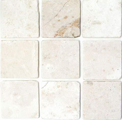 Baldosas de mármol blanco piedra natural Ibiza Antique Marble MOSF-45-42010