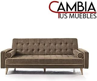 CAMBIA TUS MUEBLES - Sofa Cama Oslo Marron