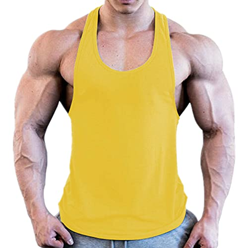 Gimnasio Hombres Muscle Sin Mangas Culturismo Deporte Deporte Chaleco