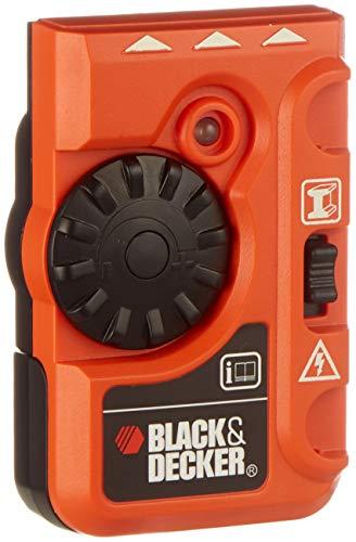 Black+Decker BDS200-XJ Detector de estructuras de Metal y Cables, 9 V