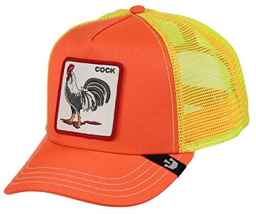 Goorin Bros Gorra Hot Male Gallo Color Naranja Fluorescente Talla Adulto Unica