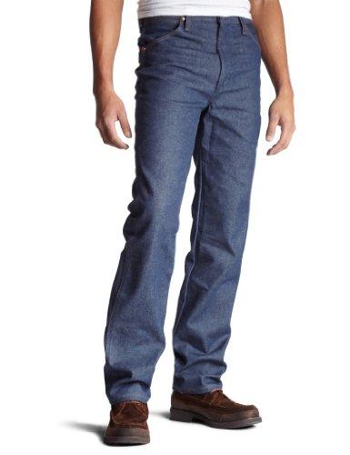 Wrangler 0936 Calça jeans masculina, corte caubói, caimento justo, Rigid Indigo, 32W x 34L