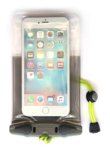 Aquapac Waterproof Phone Case (358) - iPhone 11 Pro Max XS Max 11 XR 8 Plus 7 Plus/6 Plus - Samsung S10 Plus S9 S8 S7 - Google Pixel 4 XL Pixel 3 Pixel 2 Pixel (Grey)