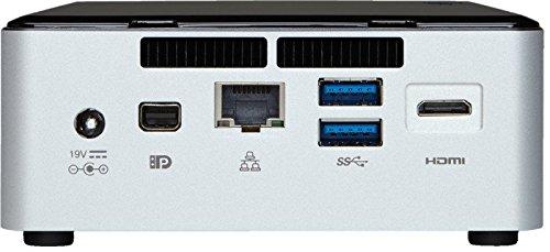 Intel Nuc Desktop/HTPC, 5th Generation Intel Dual-Core i5 Upto 2.7GHz, 16GB DDR3, 240GB SSD, WiFi, Bluetooth, Dual Monitor Capable, 4K Support, Windows 7 Professional 64Bit