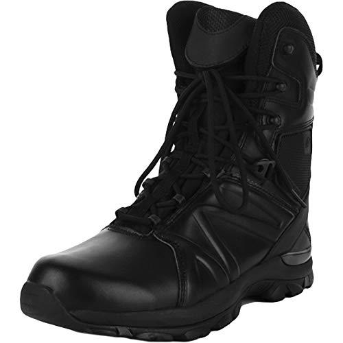 HHMacro Men's Waterproof Military Tactical Boots Black Army Jungle Boots Outdoor Sneaker Walking Hiking Trekking Shoes Breathable,A- US9.5/UK8.5/EU42.5