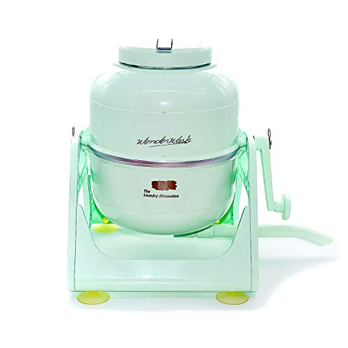 The Laundry Alternative, WonderWash, Portable Washing Machine, Mini Washer, Compact and Non- Electric, Mint Green
