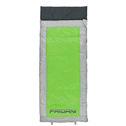 FRIDANI QG 170 K Short – Couvertures de Couchage, 170 x 70 cm, 1200 g, 6 °C (ext), 12 °C (Lim), 18 °C (Comf)