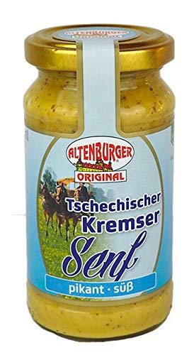 Tschechischer Kremser Senf (200ml Glas)
